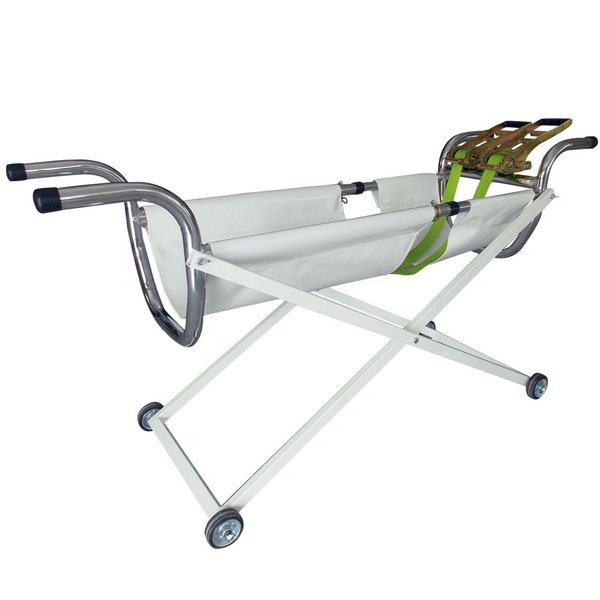 Veterinary Footed Birth Stretcher Trolley