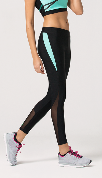 KATE Black-Mint Legging