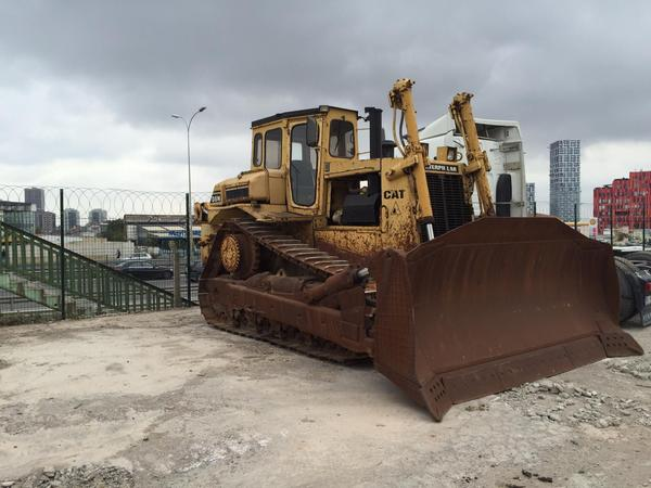 1989 Caterpillar D8N Bulldozer with Ripper