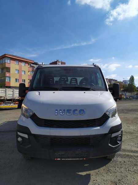 Iveco Daily 35 C 15 2.3 Engine Double Cabin Plato Truck
