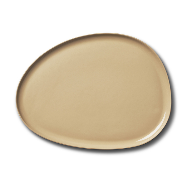Stone Large Plate, Straw Colour