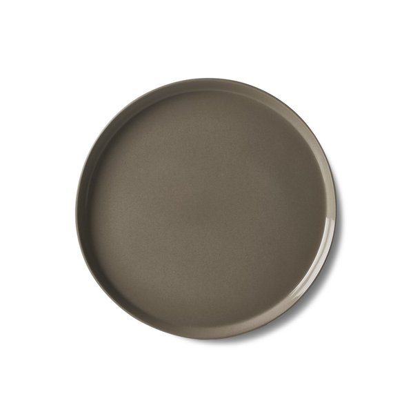 Round Small Plate, Rock Colour