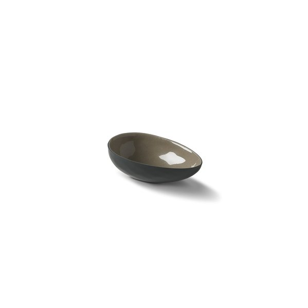 Egg Small Bowl, Black&Rock Colour