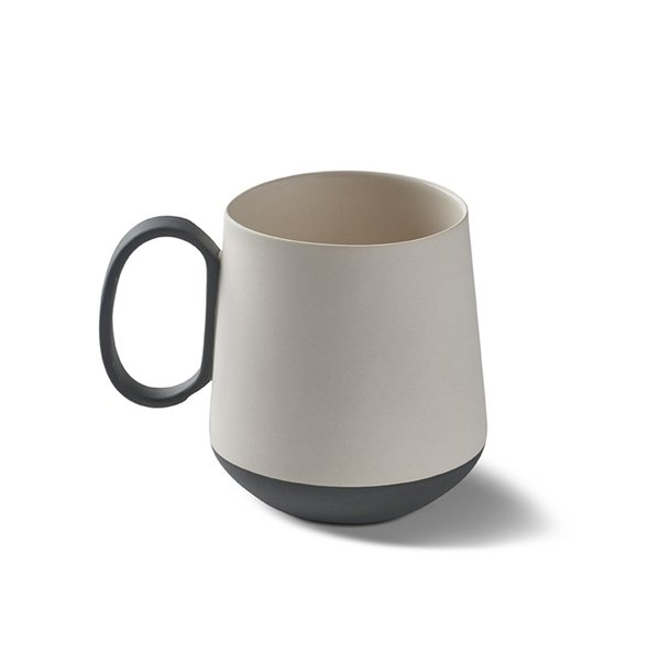 Tube Mug, Black&Ivory Colour