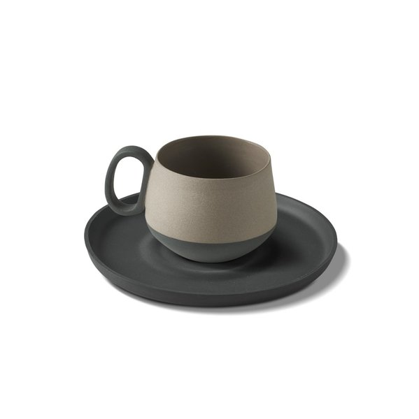 Tube Mug, Black Colour