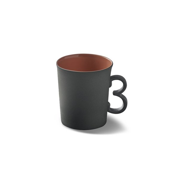 Figures Espresso Cup, Black&Ivory Colour