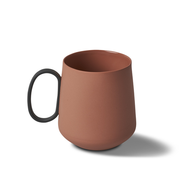 Tube Mug, Coral Colour