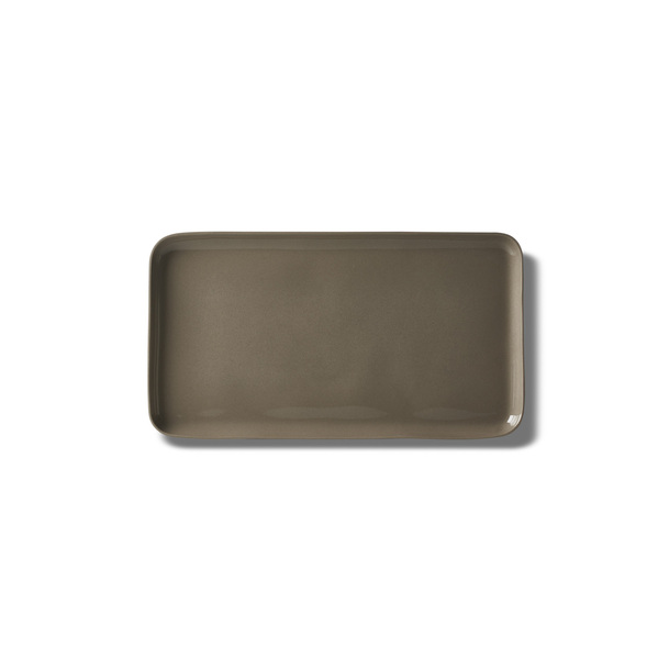 Rectangle Medium Plate, Coral Colour