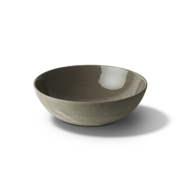 Ellipse XLarge Bowl, Rock&Aqua Colour