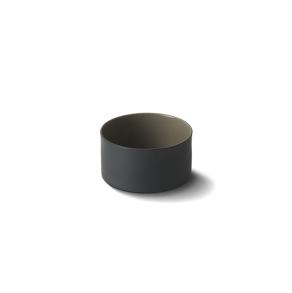 Cylinder Large Bowl, Black&Rock Colour