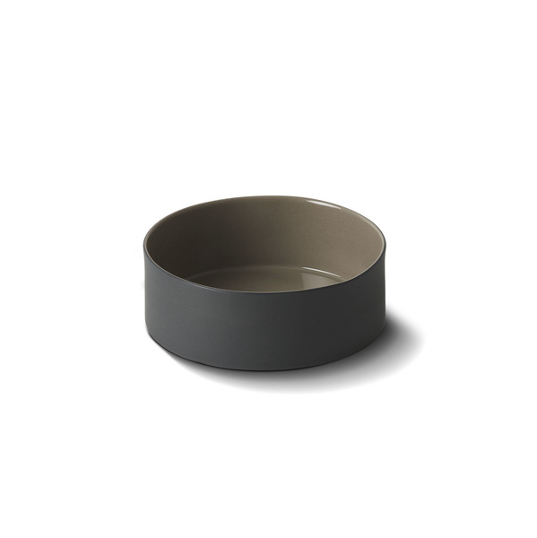 Cylinder Mini Bowl Black&Rock Colour