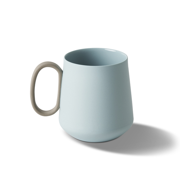 Mug With Leather, Rock&Ivory Colour