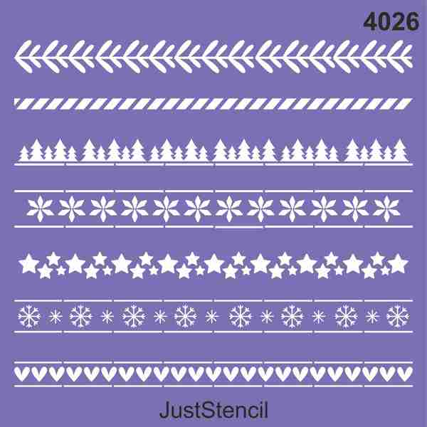Noel Border Patterns