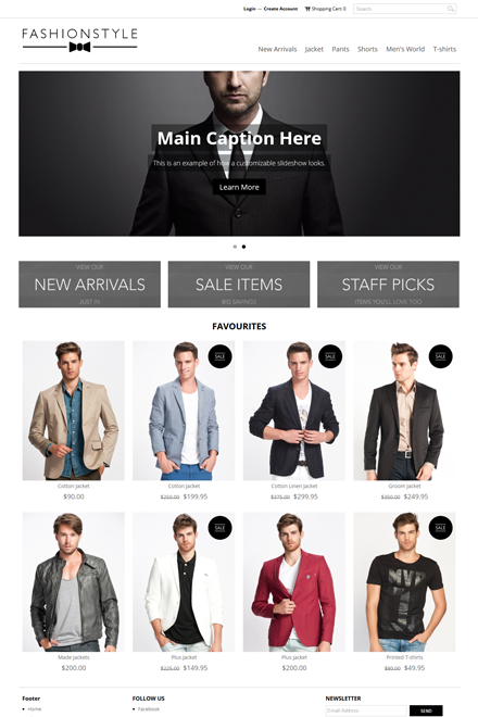 Fashion Style Ecommerce theme for Shopio